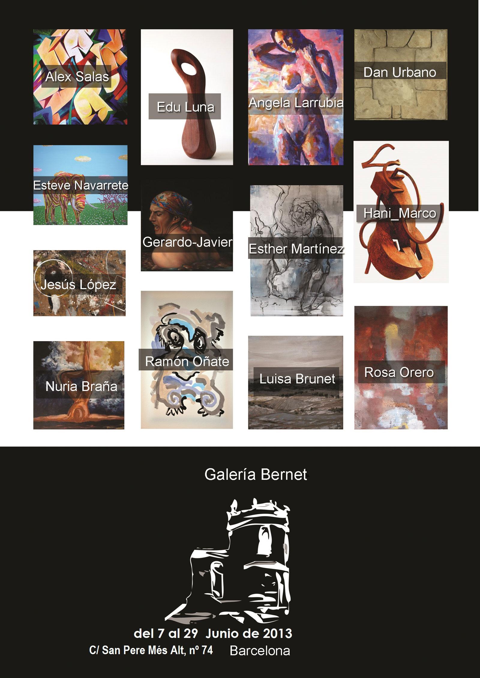 Galería Bermet Barcelona